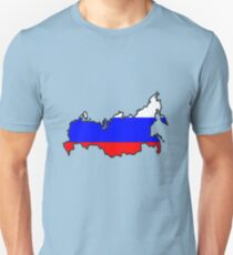 Zammuel's Country Series - Russia (Blank) Unisex T-Shirt