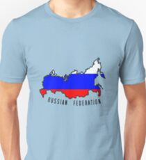 Zammuel's Country Series - Russia (Russian Federation V1) Unisex T-Shirt