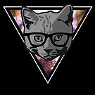 Infinity Hipster Cat by pda1986