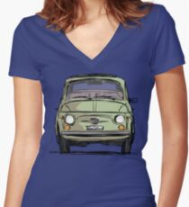 cinquecento Women's Fitted V-Neck T-Shirt
