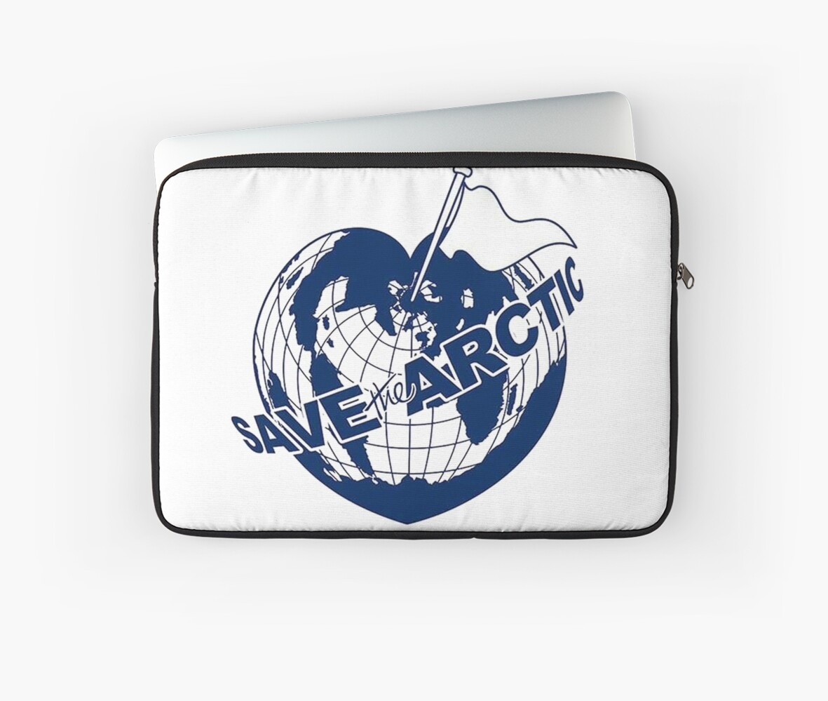 Wall Art Greenpeace : Quot save the arctic greenpeace laptop sleeves by rebecca