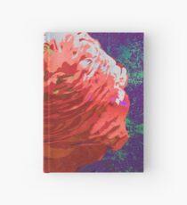 Red Ranunculus Buttercup Floral Art Hardcover Journal