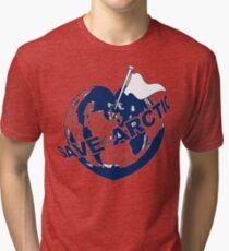 SAVE THE ARCTIC - GREENPEACE Tri-blend T-Shirt