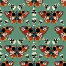 Morphogenesis - Butterfly Skulls by BigFatArts