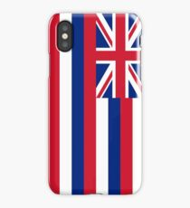 State flag of Hawaii - Authentic version iPhone Case