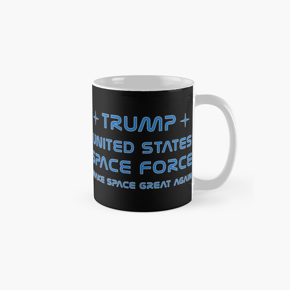 Trump, United States Space Force, USSF. Classic Mug