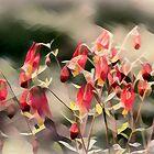 Windgewaschene Blumen von Eileen McVey