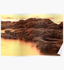 Devonport Rocks Poster