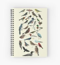 Bird Fanatic Spiral Notebook