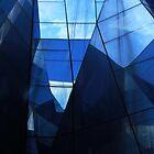Reflexionen und Linien ... Barcelona von Angelika  Vogel
