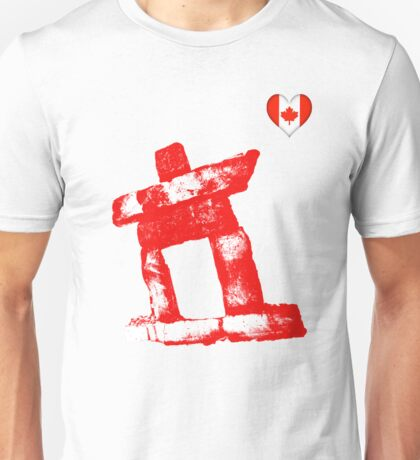 I love Canada rock man -RED- T-Shirt