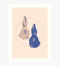 Lámina artística Rabbitybabbity