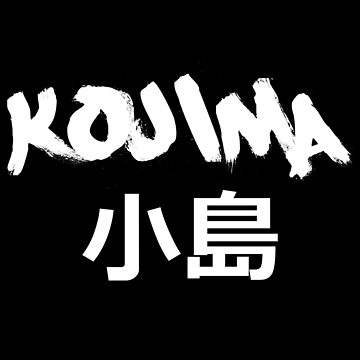 Kojima Black by HouseOfHomies