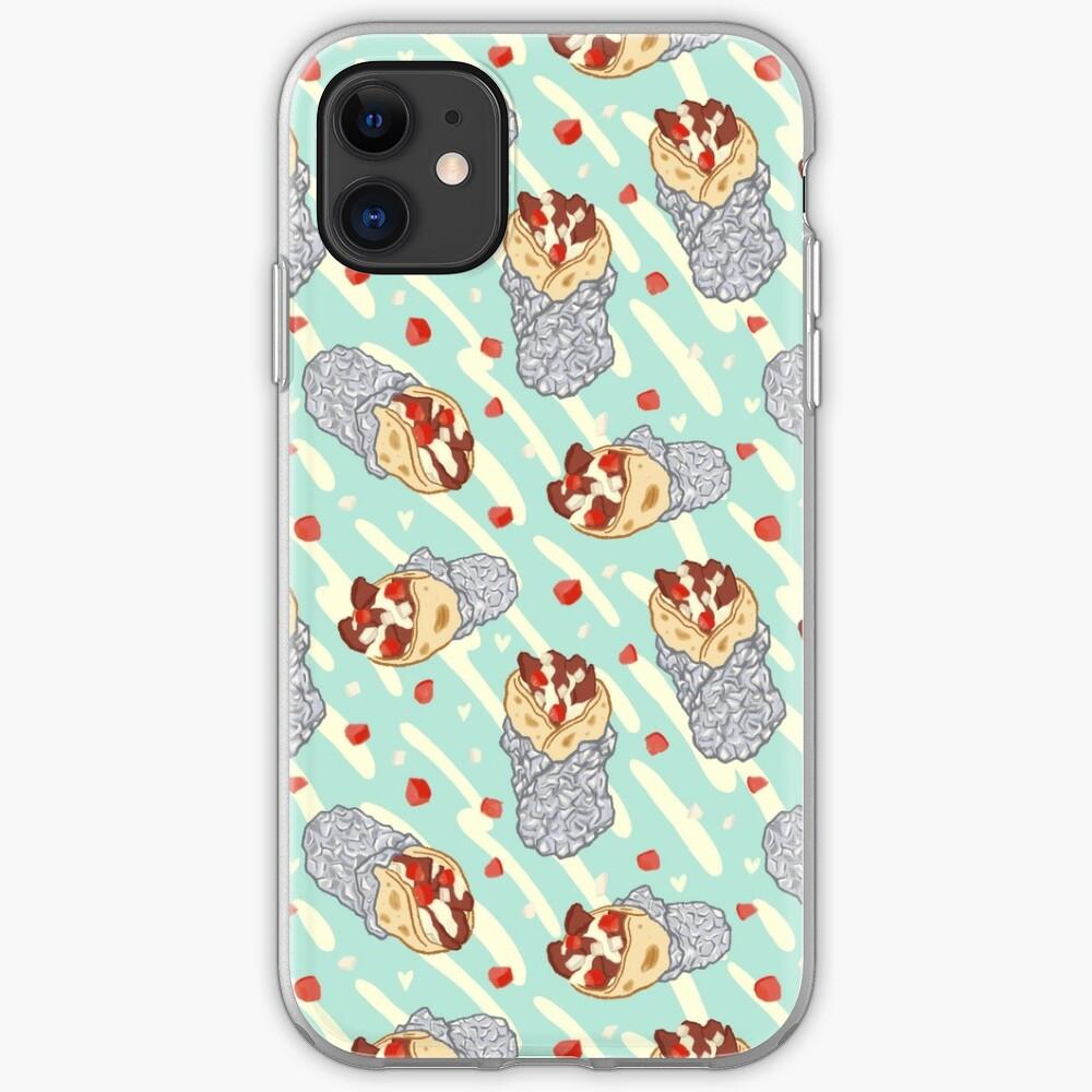 Halifax Donair Love on Mint iPhone Soft Case