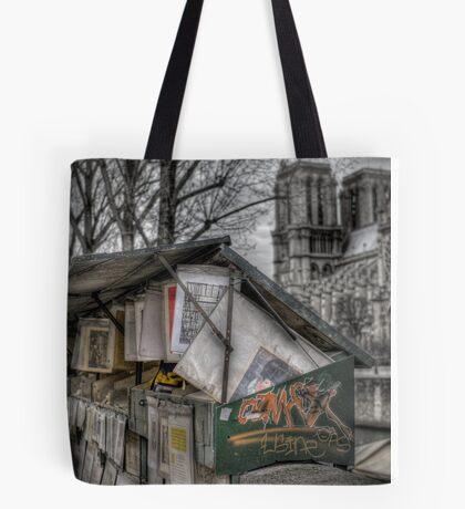 Bouquinistes, Paris Tote Bag