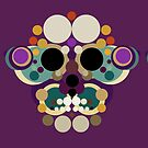 Butterfly Skull by BigFatArts