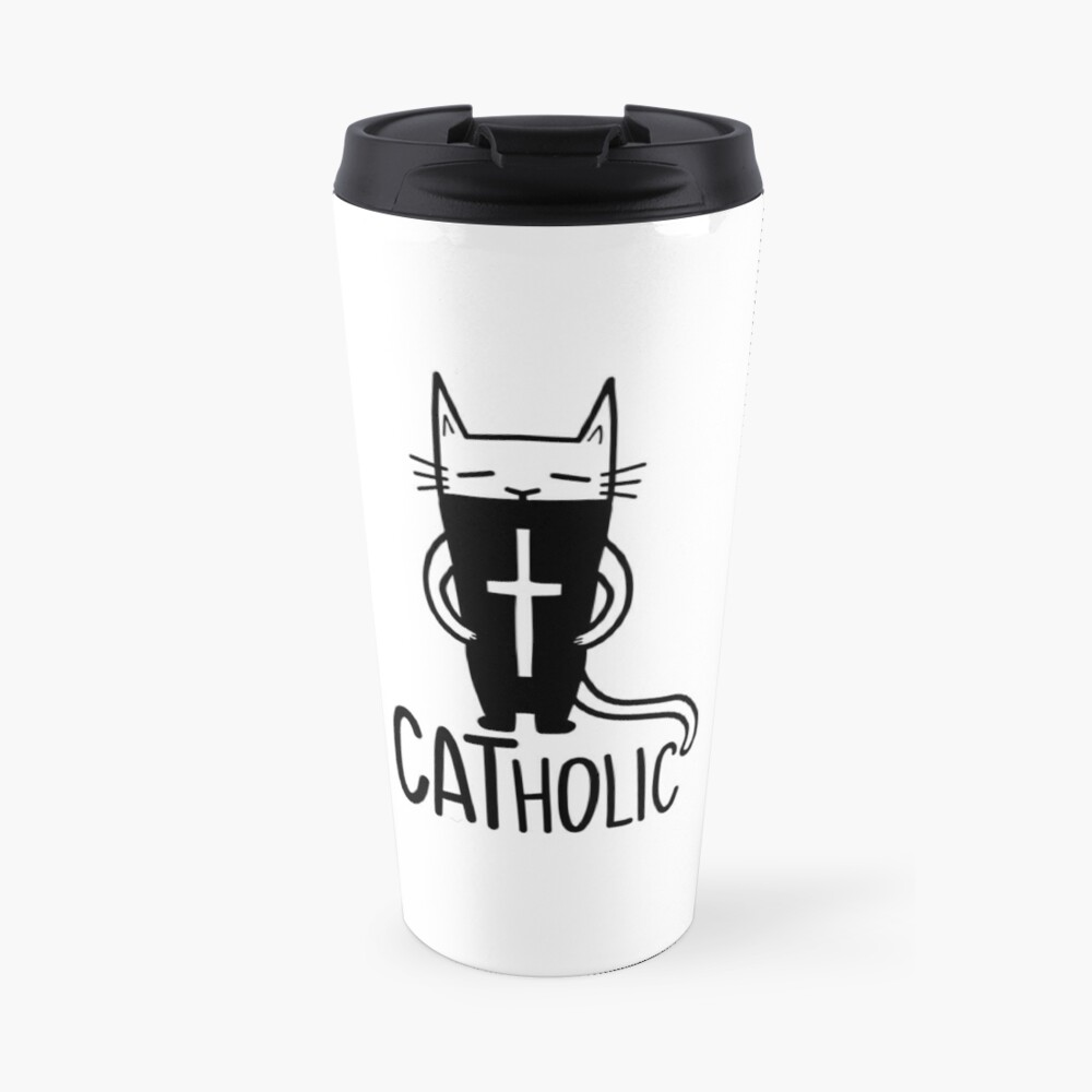 CATholic Travel Mug