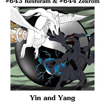 Reshiram & Zekrom: Yin & Yang by PokemasterShay