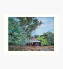 The Old Shearing Shed Art Print