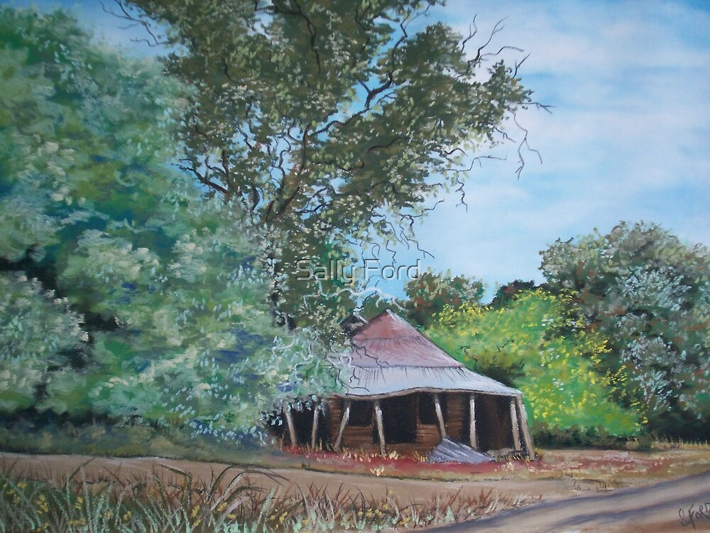 The Old Shearing Shed by Sally Ford