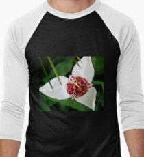 Crimson Purity Baseball ¾ Sleeve T-Shirt
