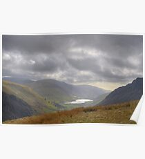 Tal-y-llyn Lake Snowdonia Wales Poster