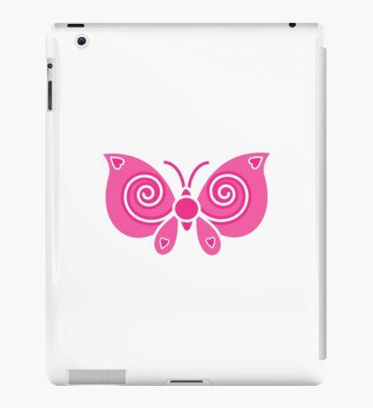 Pink Butterfly iPad Case/Skin