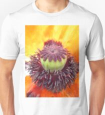 Middle of a Poppy Unisex T-Shirt