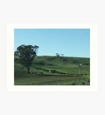 A Country Scene (6610) Art Print