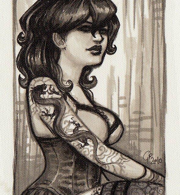Dragon Lady by Georgia Patton