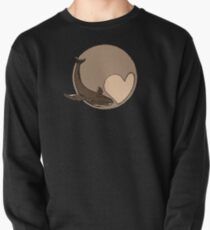 Pluto: Whale and Heart Pullover Sweatshirt