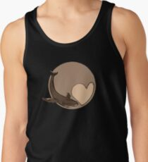 Pluto: Whale and Heart Tank Top