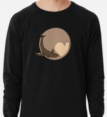 Pluto: Whale and Heart Lightweight Sweatshirt