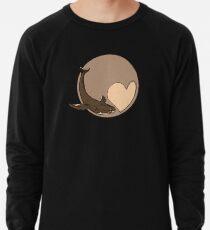 Pluto: Whale and Heart Lightweight Sweatshirt