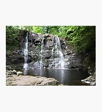 Glenariff Forest Waterfall - Wide angle Photographic Print
