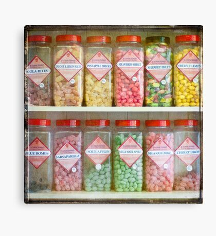 Pick and Mix Canvas Print