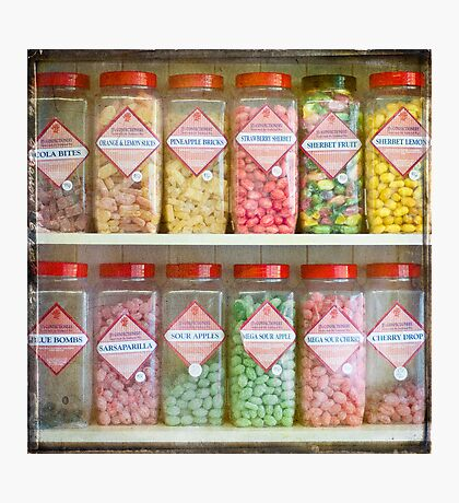 Pick and Mix Photographic Print