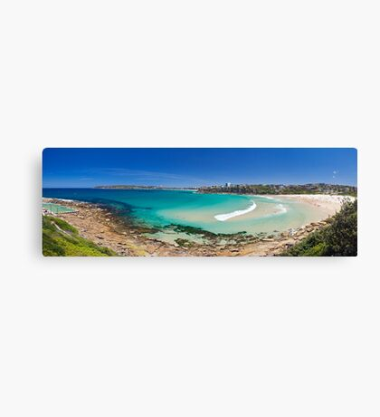 freshwater beach Canvas Print