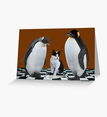 """""""THIS IS NOT JUNIOR - WHO IS THIS IMPOSTER?"""" Always show the you in you that makes you the you that you are.  Greeting Card"""
