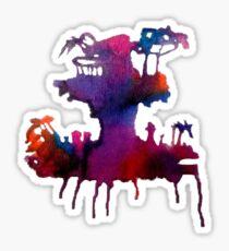 Gorillaz Plastic Beach Sticker