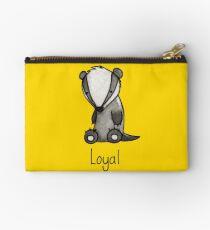 The Loyal Badger Zipper Pouch