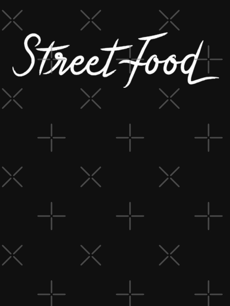 Street Food (white) by Polymer