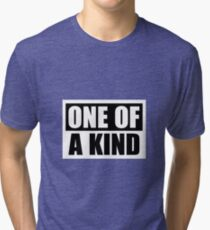 "G-Dragon ""One of a Kind"" (Ver 2) Tri-blend T-Shirt"