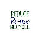 Reduzieren, wiederverwenden, recyceln von Quotation  Park