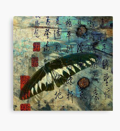 butterfly blend Canvas Print