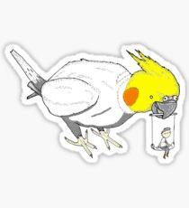 Bird toys Sticker