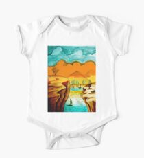 Hand Drawn Landscape Kids Clothes