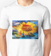 Textured orange  Sunflower Unisex T-Shirt