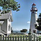 Marblehead Lighthouse by Monnie Ryan