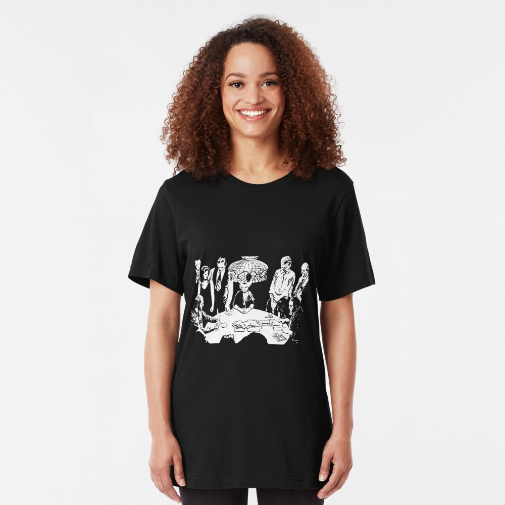 The Kid vs The Man Slim Fit T-Shirt